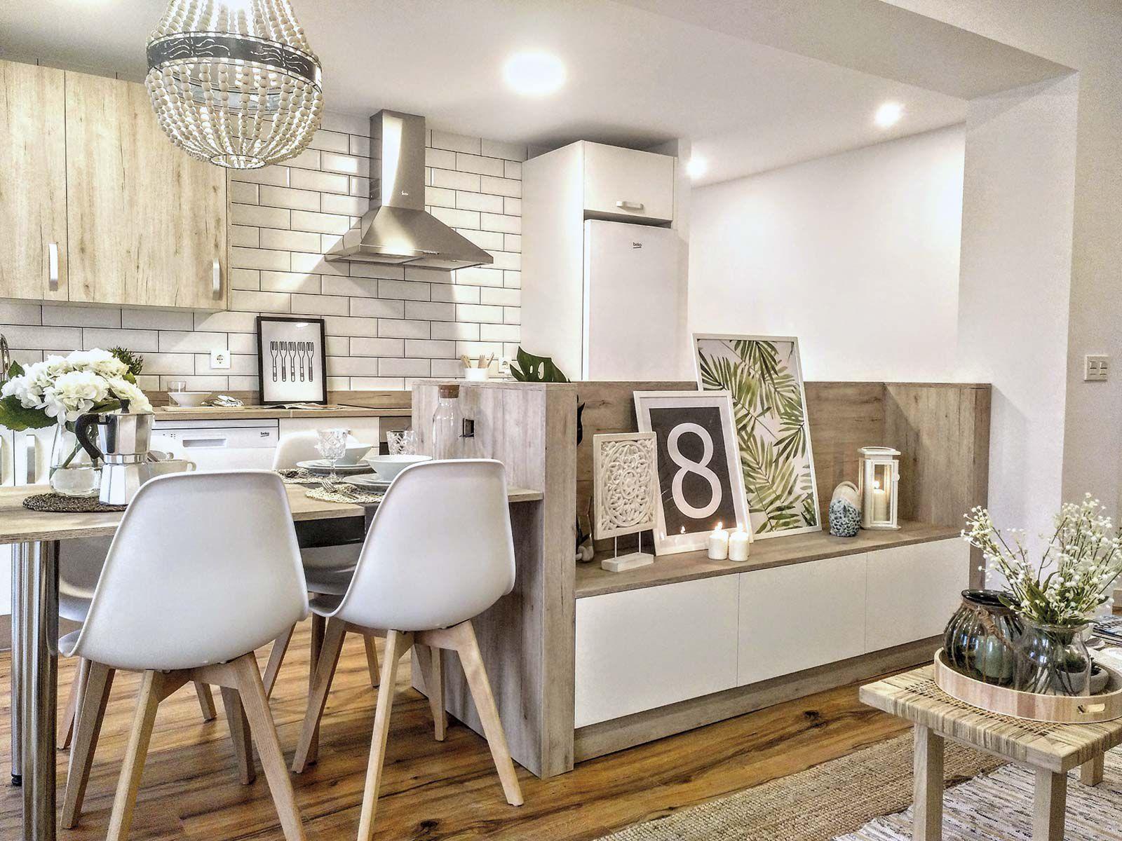 Salón-comedor-cocina: El antes y el después   home   modern ...
