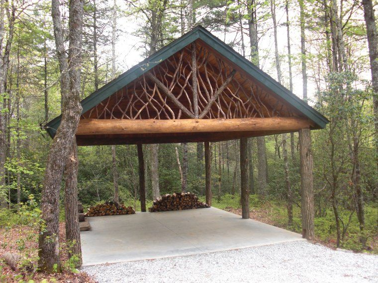 log car port Construction Photo's Carport designs