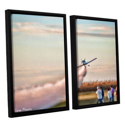 ArtWall Lora Mosier's 2 Piece Floater Framed Photographic Print on Canvas Set