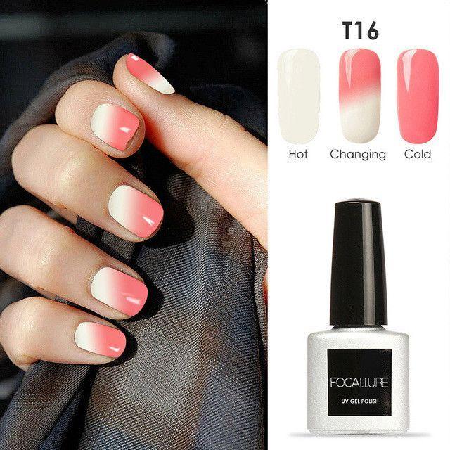 Temperature Changing Color Nail Gel Polish 30 Colors Uv Gel Soak Off Uv Gel Polish Varnish Color Change Nail Polish Nail Polish Soak Off Gel Nails