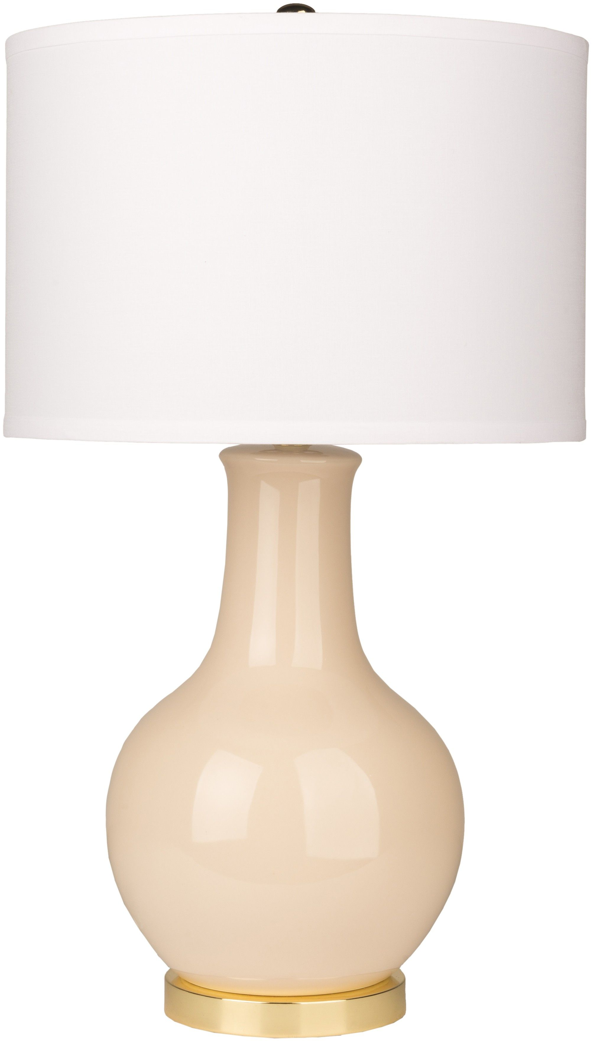 The classic Audrey Lamp is ready to make a colorful impact in your ...
