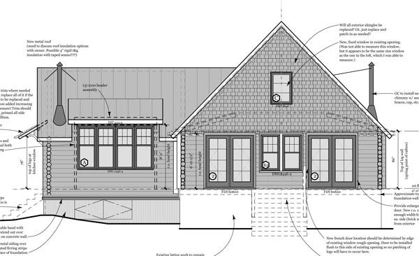 S House Drawings Heres A Copy Of My Elevation Drawing Of - What is my elevation
