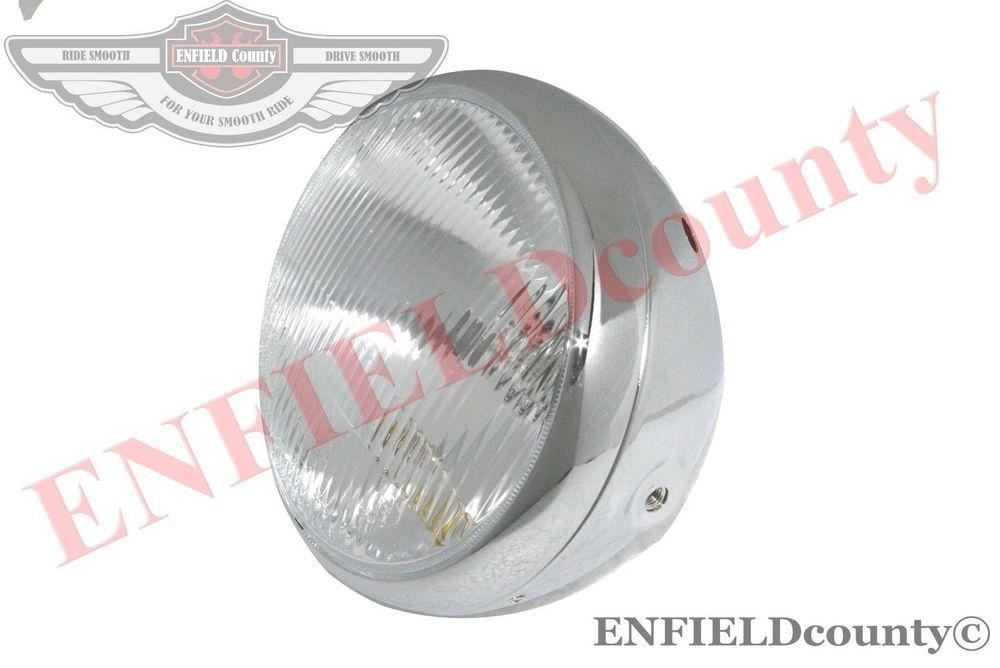 Lambretta LI Series 2 Headlight Unit Innocenti CEV MarkedWith Holder S2u
