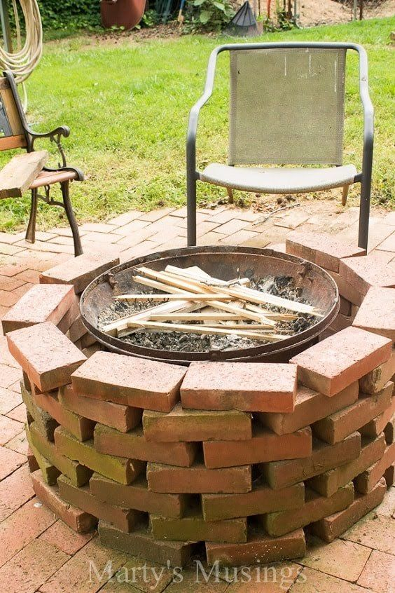 Diy Fire Pit Moveable