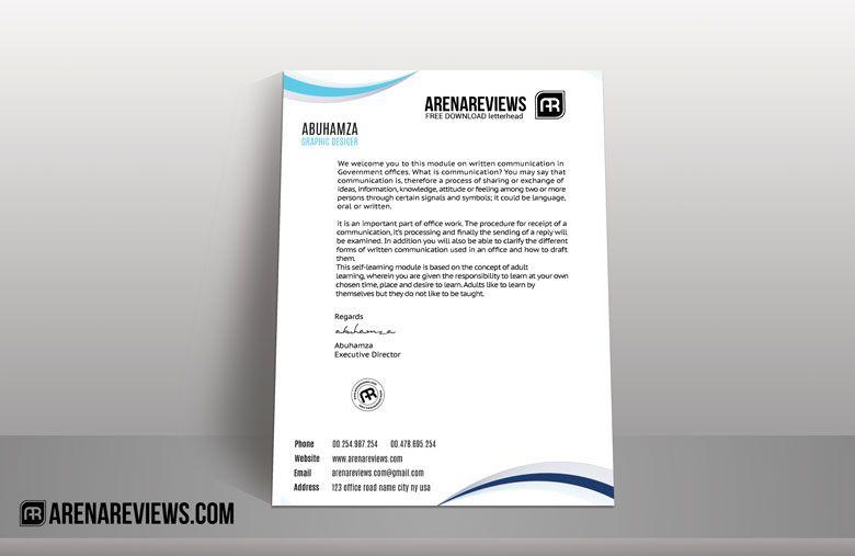 Brand Identity Business Card Letterhead Mockup Free  Mockup