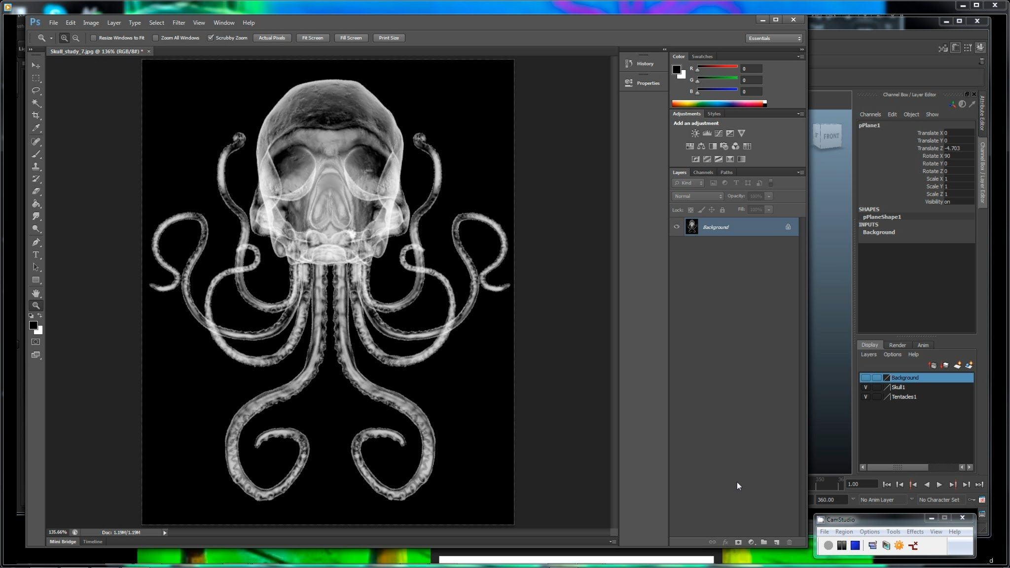 Maya tutorial create a realistic x ray effect using the sampler this tutorial explores how mayas sampler info node can be used to create realistic x ray effects by using the mia light surface node as the sole source of baditri Gallery