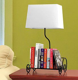 I Would Have To Replace The Blah Ugly Lampshade But This Bookshelf Lamp Be Perfect Next My Bed Maybe A Second One In Guest Room As Well