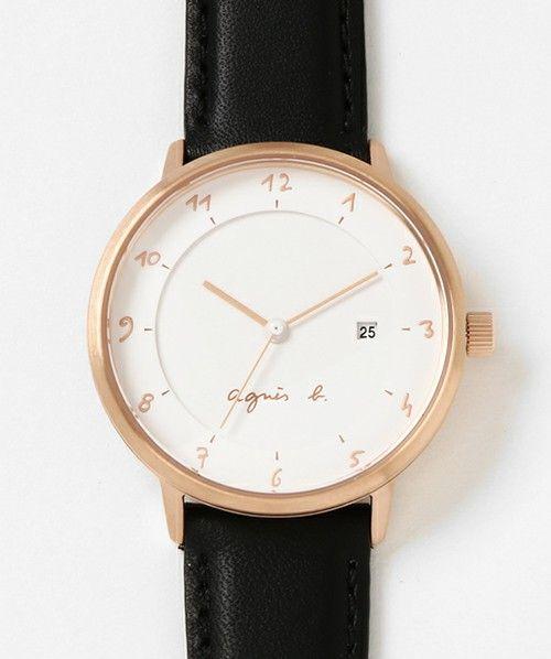 91ed96891d ZOZOTOWN|送料無料】agnes b.(アニエスベー)の腕時計「LM02 WATCH ...