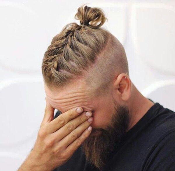 Trenzas para hombre con pelo corto