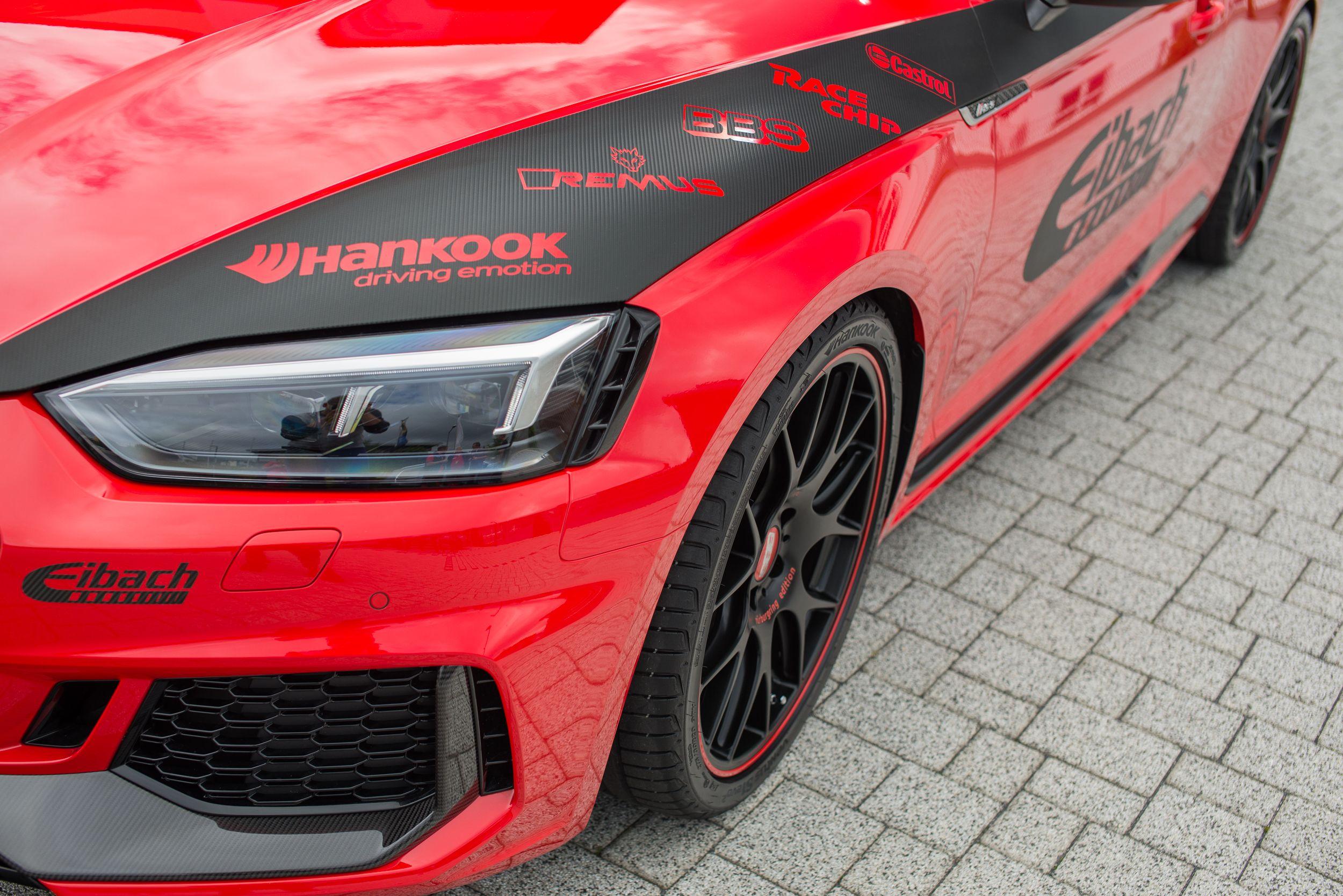 Audi Rs5 Coupe 2017 Felgen Tuning A La Eibach Audi Rs5 Audi