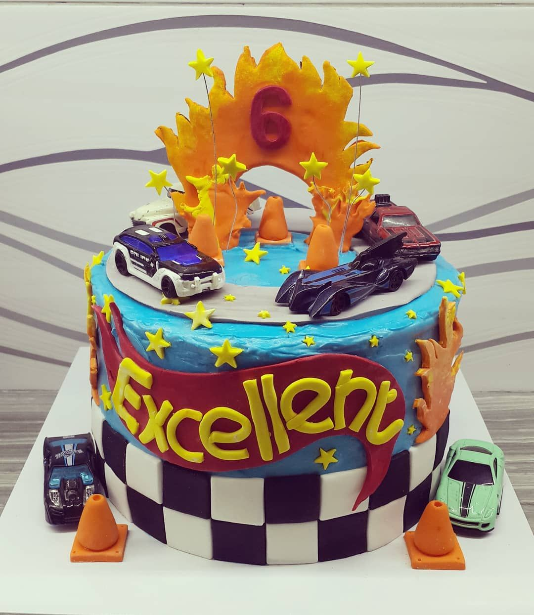 Hotwheels Birthday Cake For Excellent S 6th Birthday Happybirthday Birthdaycakemalang Cakemalang Kueulangtahun