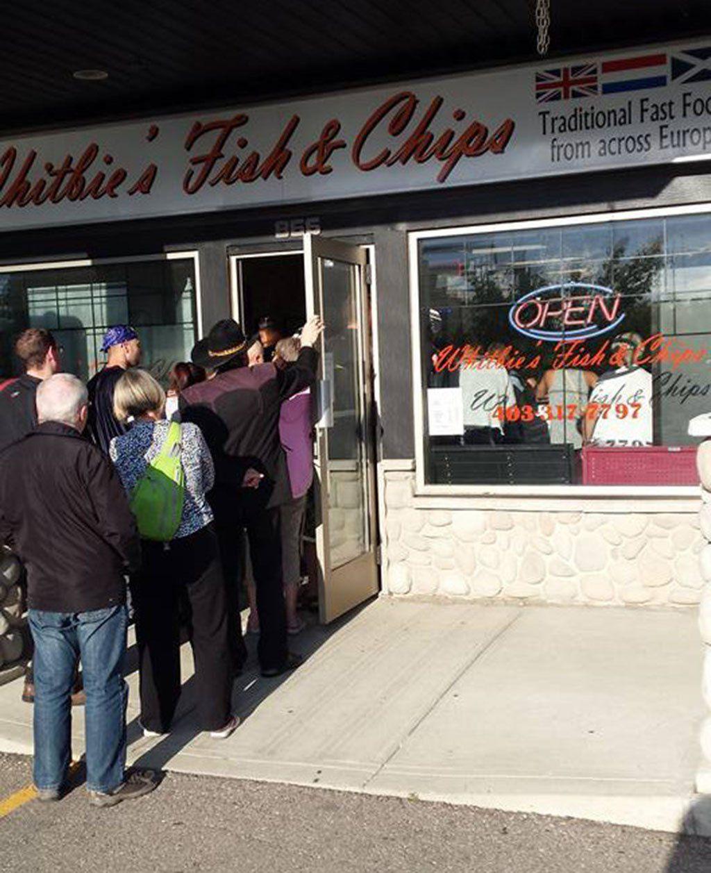 un local de Fish & Chips paso de un cliente a 500 gracias a #facebook