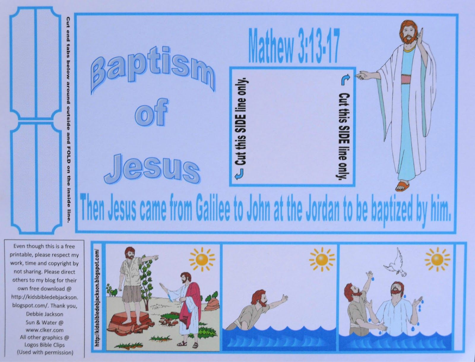 Crafts Activities Bible Craft John The Baptist In
