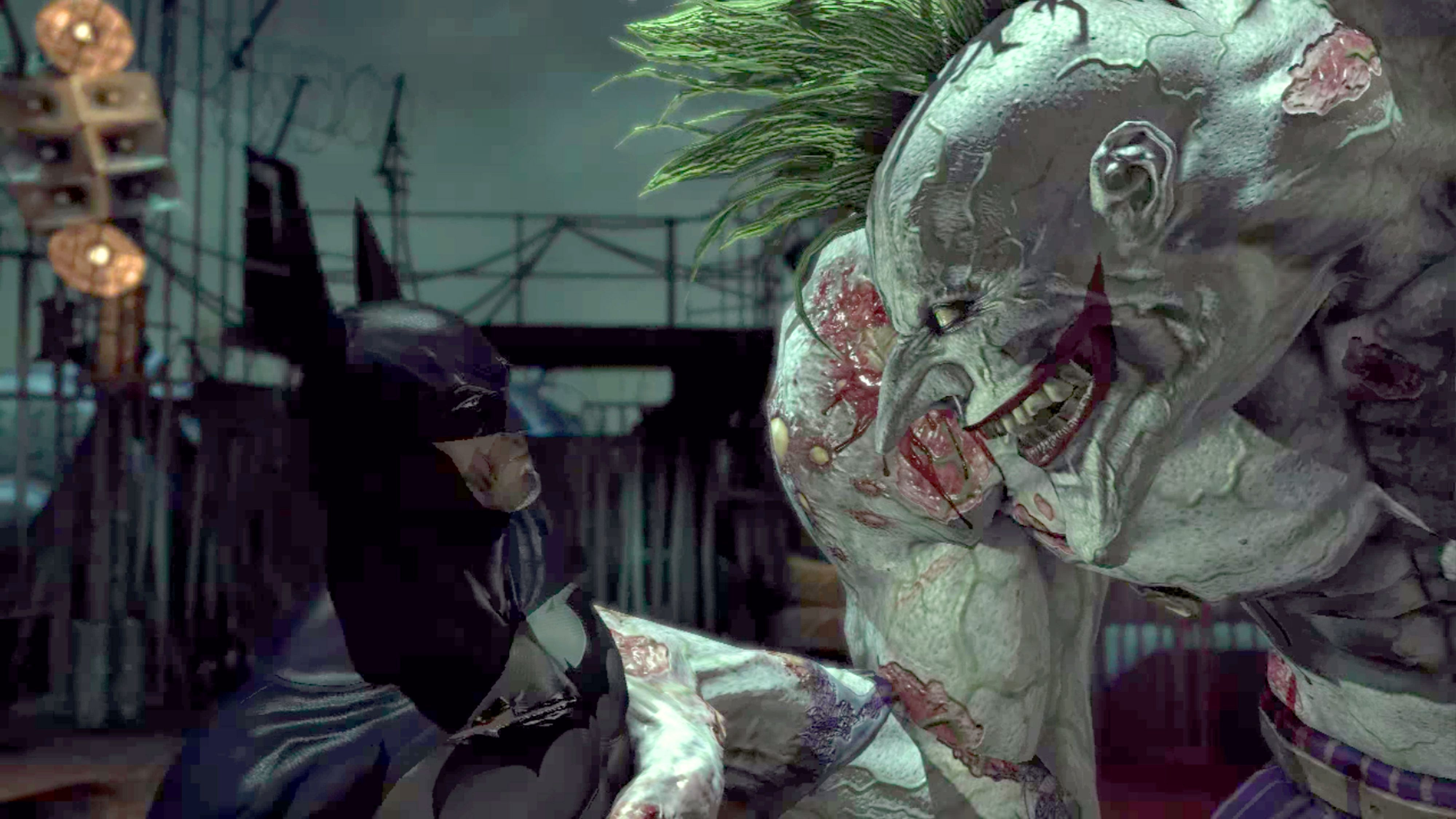 Batman Arkham Asylum Confronting The Titan Joker Return To Reg 3 Ps4