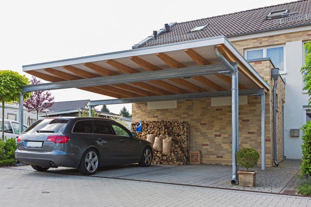 "meincarport.de Carports ""Bauhaus/Stahl"" Stahlcarport"
