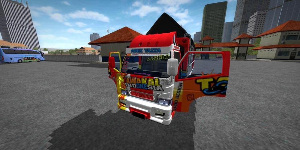 Download mod truck canter tawakal bussid terbaru 2020 and