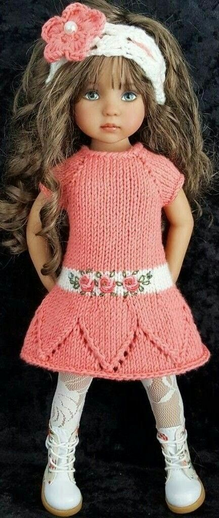 Pin de Renata Burikina en Doll\'s clothes | Pinterest | Muñecas ...