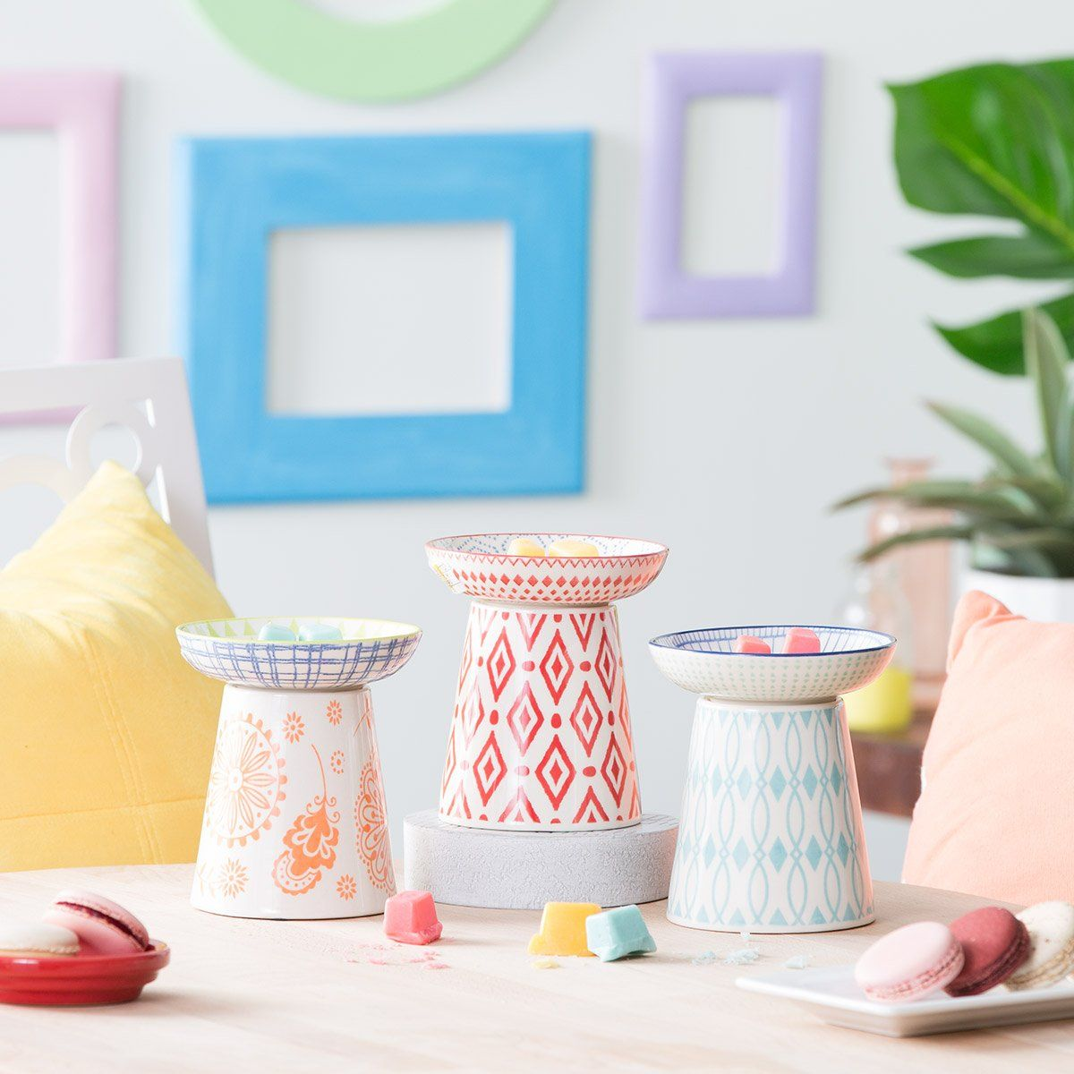 Mix and Match to give your space the perfect POP of COLOR
