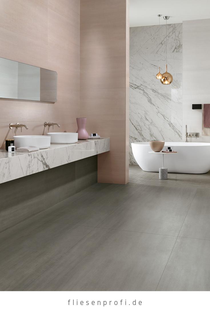 Metall Optik Fliesen Grau Matt Mek Medium Toilette Design Badezimmereinrichtung Badezimmer Innenausstattung