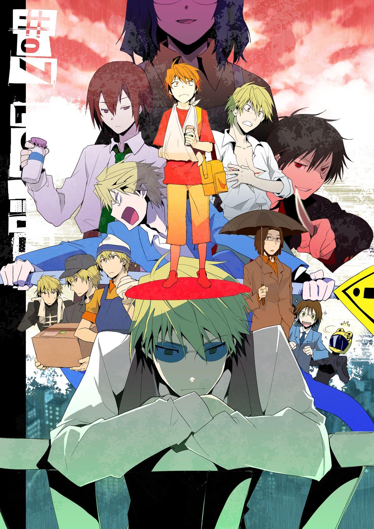 Durarara!!! cast Durarara, Anime, Shizaya