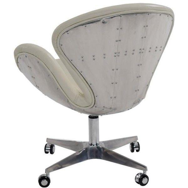 el dorado furniture aviator leather desk chair 450 liked on