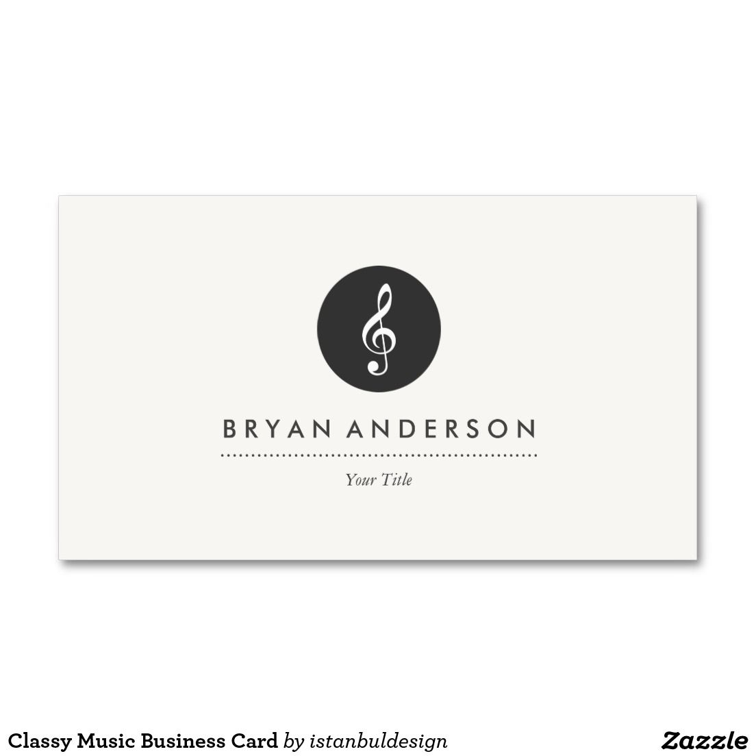 classy chair logo design. Classy Music Business Card Musical Note  cards and Logo