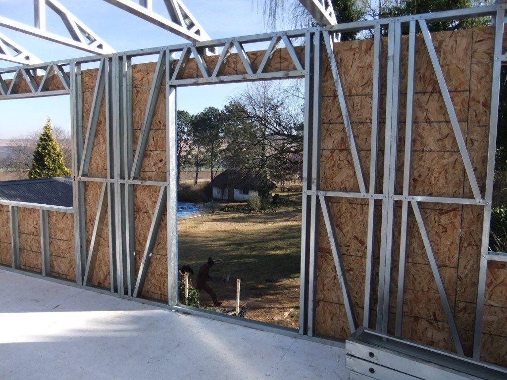 Steel Framed Houses O Que Tem O Light Steel Frame Que Os Outros Sistemas Construtivos