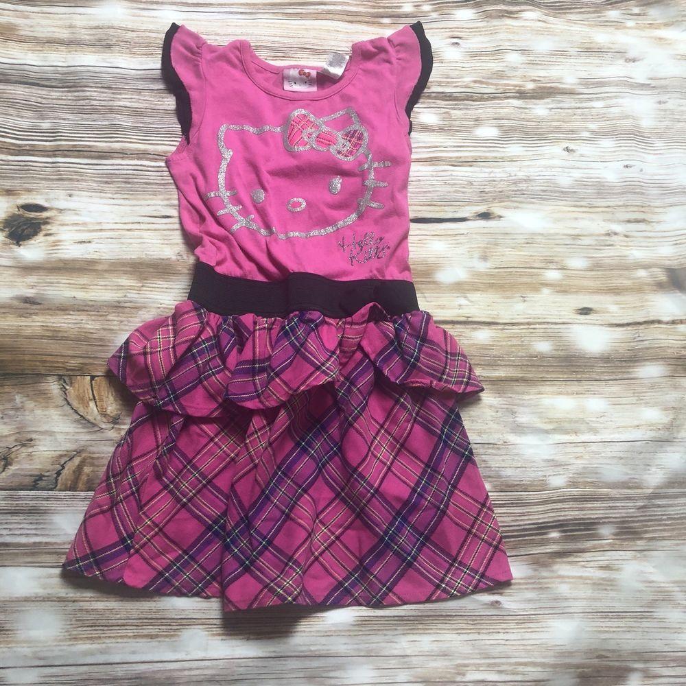 e1aef2bf3 Hello Kitty Girl Medium Pink Dress #fashion #clothing #shoes #accessories  #kidsclothingshoesaccs #girlsclothingsizes4up (ebay link)