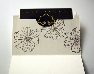 Simple Pop Up Giftcard Holder