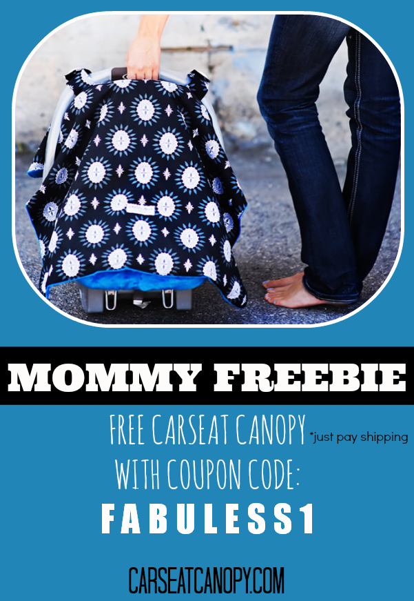I canu0027t believe this is FREE! Preferct for baby showers... itu0027s a FREE car seat canopy to keep your baby covered and mommy stylish. Coupon code is FABULESS1 ...  sc 1 st  Pinterest & Free Carseat Canopy Udder Nursing Covers Pillow Pads Baby Sling ...