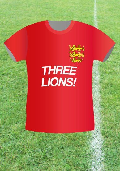 Big Pasty Productions Football Fever Three Lions England Greeting Card Amazoncouk Office Products Well Done Good Result