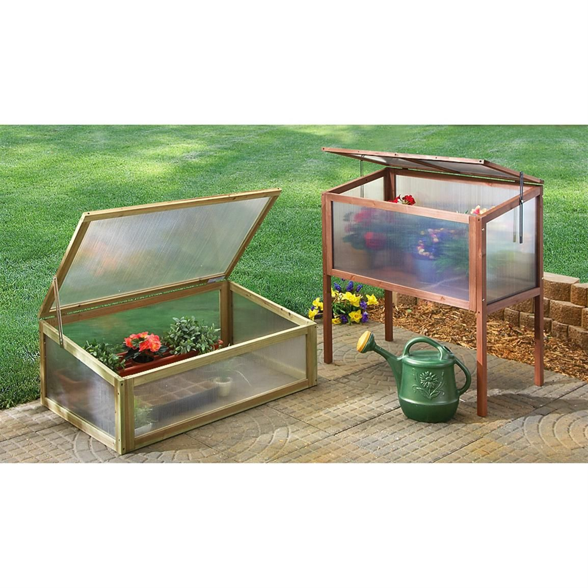 Guide Gear Raised Wooden Cold Frame Greenhouse Cold Frame Greenhouse Cold Frame Greenhouse Plans