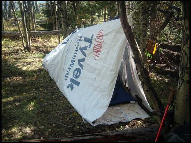 DUPONT TYVEK TUBE TENT - From Bowsite.com post by Cactusjumper. & DUPONT TYVEK TUBE TENT - From Bowsite.com: post by Cactusjumper ...