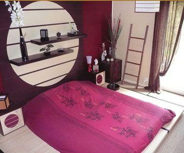 une chambre asiatique avec les couleurs que j 39 aime deco. Black Bedroom Furniture Sets. Home Design Ideas