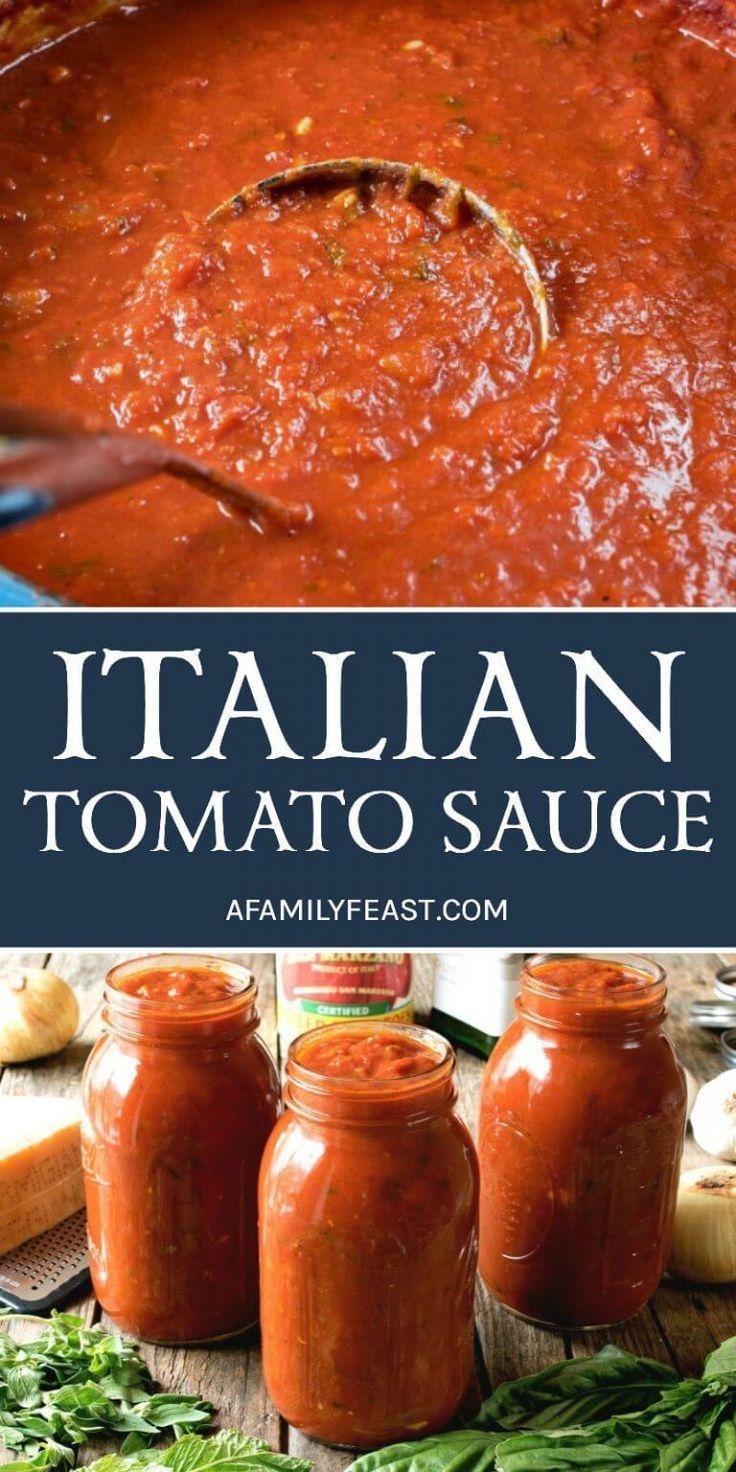 The Best Italian Tomato Sauce – A Family Feast®