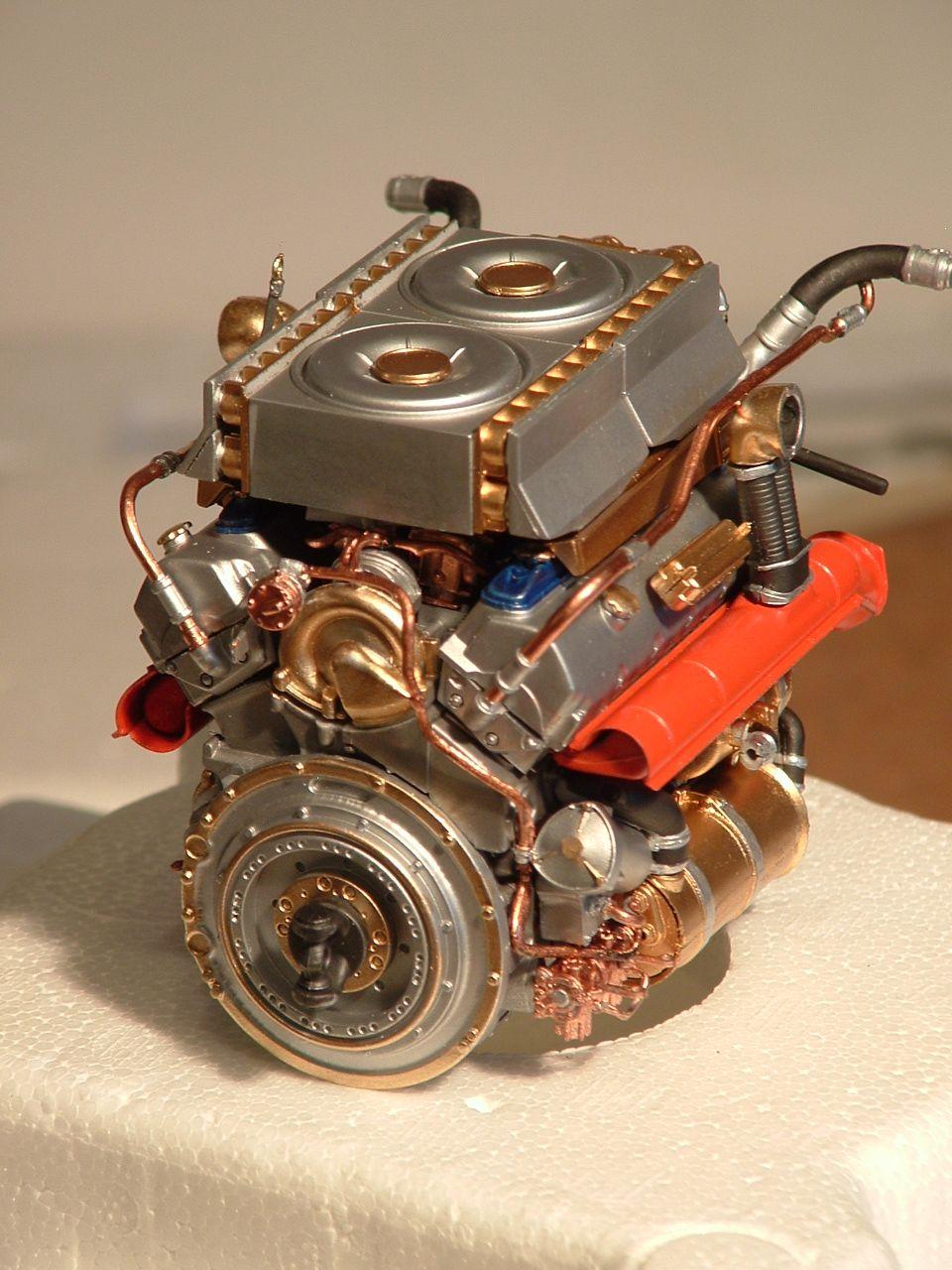 hight resolution of king tiger engine 1