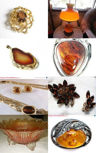 Amber Elegance  by Christine Behrens on Etsy--Pinned with TreasuryPin.com