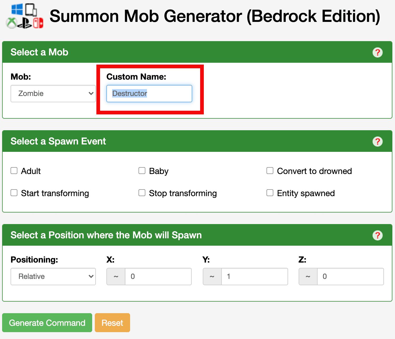 20 Command Generators Minecraft ideas minecraft generator