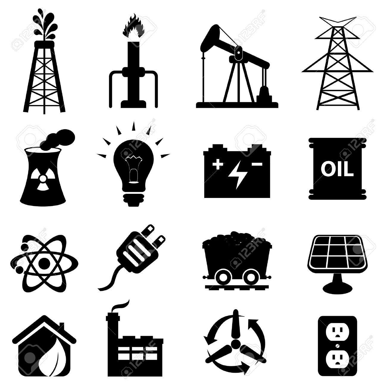 Oil Rig Clipart Icon 9
