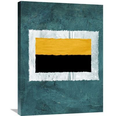 Naxart 'Abstract Theme 5' Painting Print on Wrapped Canvas Size: