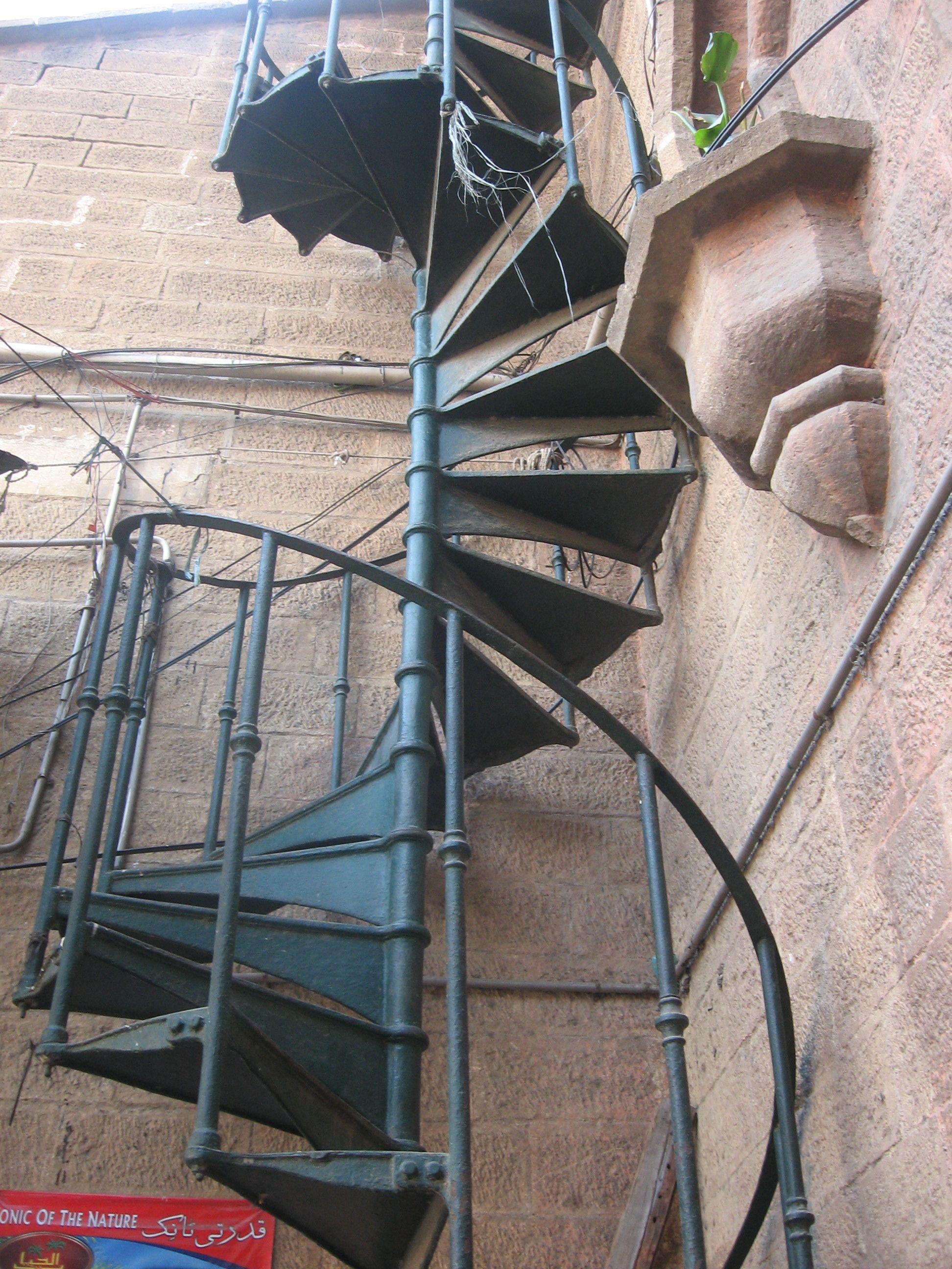 Best Spiral Staircase Empress Market Karachi Pakistan 400 x 300