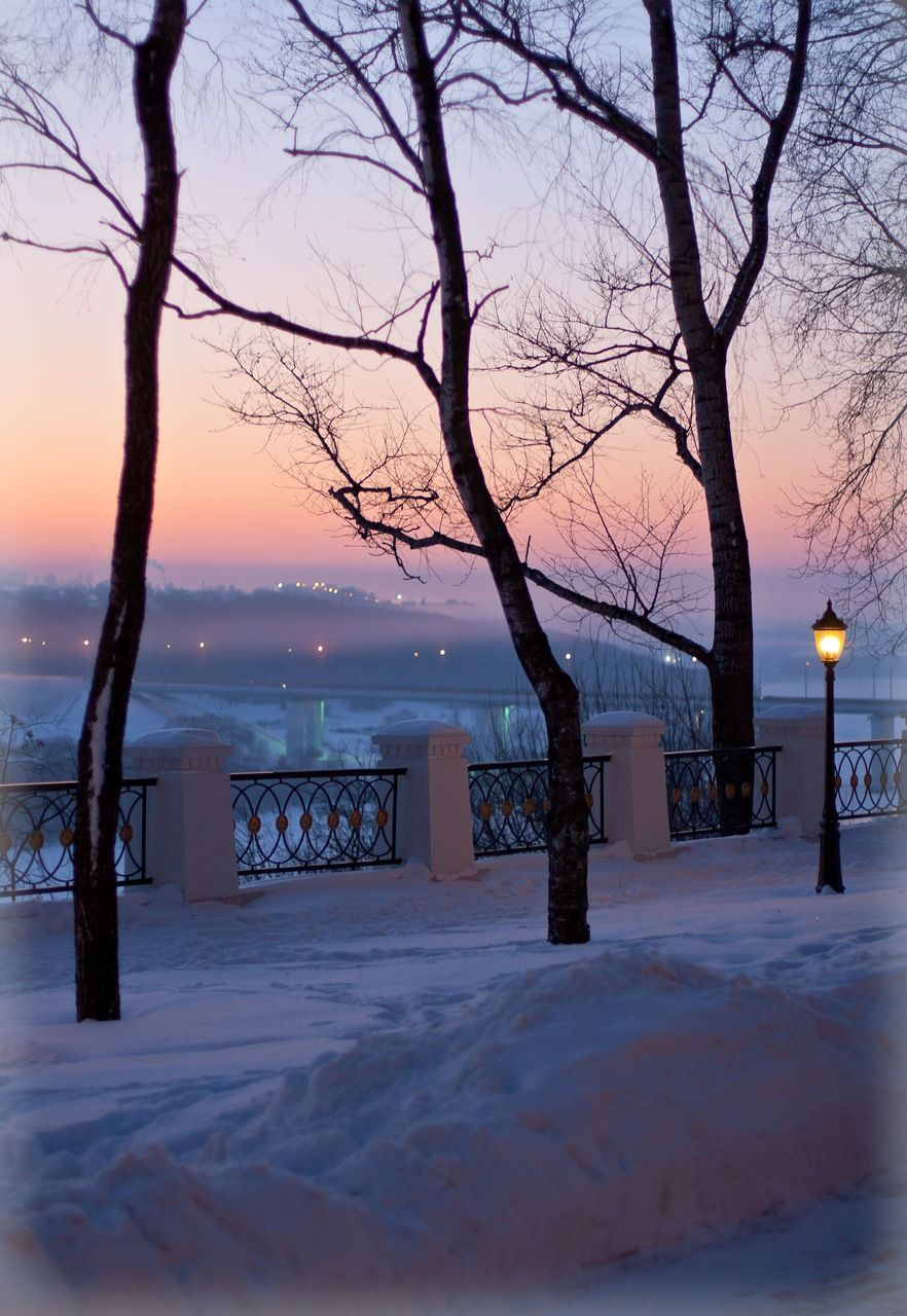 Winter can be very beautiful.