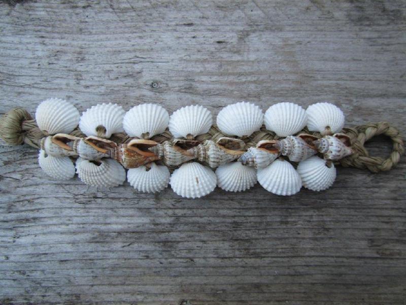 Hot Lava bracelet armband shell schelp