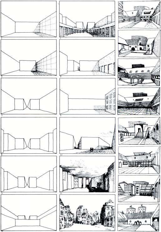 Rob Krier, Morphological Series of Urban Spaces