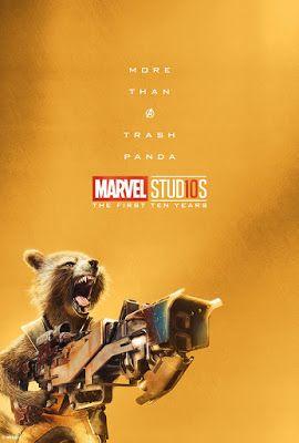 Rocket Raccoon More Than A Trash Panda Poster Marvel Marvel