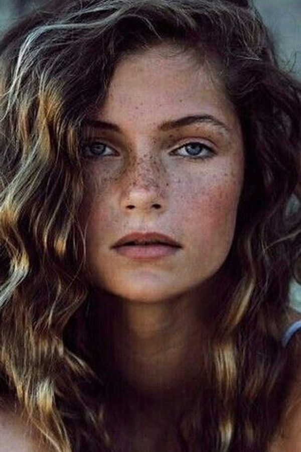 50 Beautiful Girls With Freckles  Natural Beauty -3561