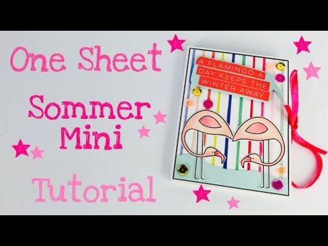 One Sheet Sommer Mini [ tutorial deutsch] YouTube (mit