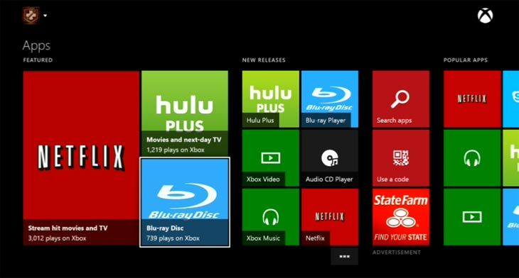 The Netflix app on Xbox, PlayStation, Smart TVs, and other