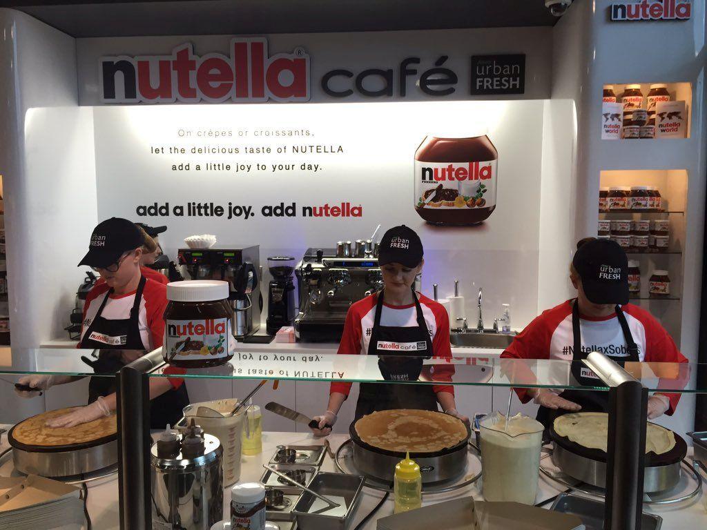 12 NutellaThemed Locations Around the World Nutella