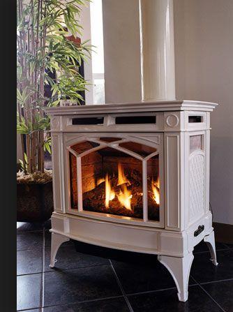 Propane Freestanding Fireplace Photo 2 Propane Fireplace